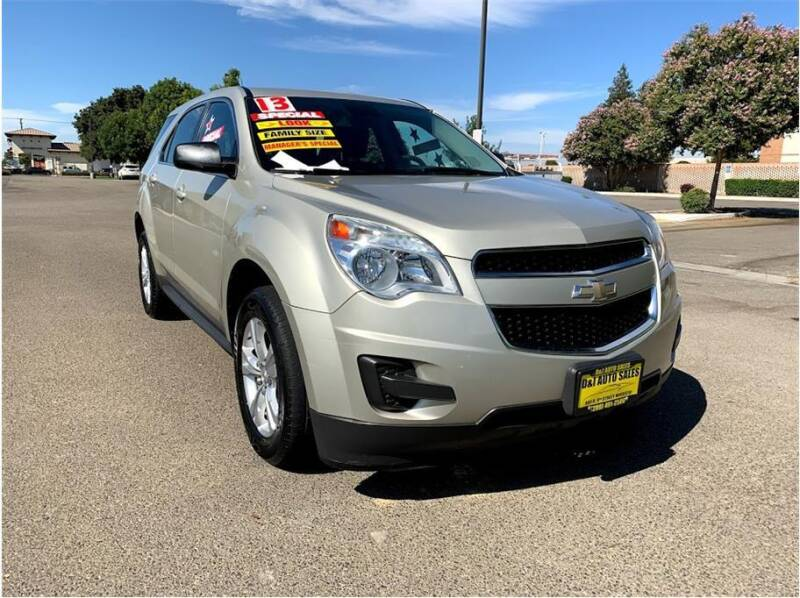 2013 Chevrolet Equinox for sale at D & I Auto Sales in Modesto CA