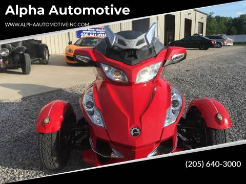 2012 Bombardier Can Am Spyder