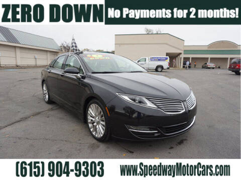 2014 Lincoln MKZ for sale at Speedway Motors in Murfreesboro TN