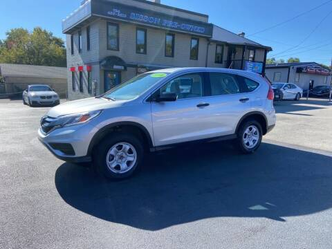 2016 Honda CR-V for sale at Sisson Pre-Owned in Uniontown PA