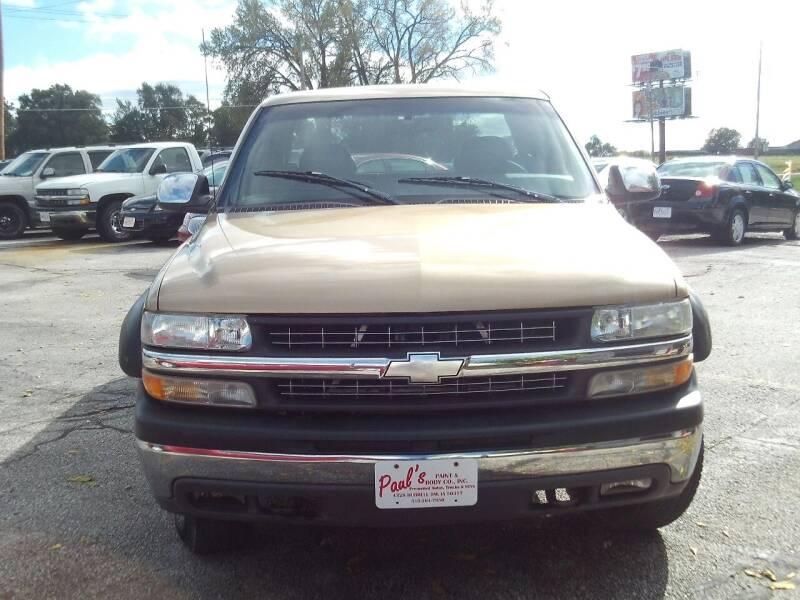 1999 Chevrolet Silverado 1500 for sale at PAUL'S PAINT & BODY SHOP in Des Moines IA