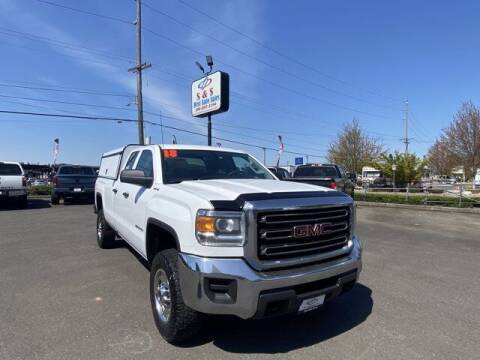2018 GMC Sierra 2500HD for sale at S&S Best Auto Sales LLC in Auburn WA