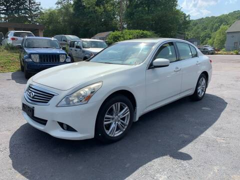 2011 Infiniti G25 Sedan for sale at GMG AUTO SALES in Scranton PA