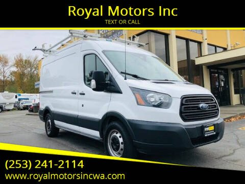 2015 Ford Transit Cargo for sale at Royal Motors Inc in Kent WA