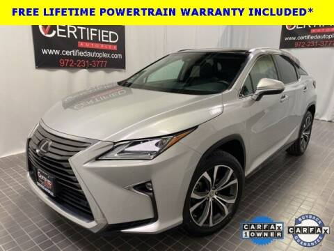 2017 Lexus RX 350 for sale at CERTIFIED AUTOPLEX INC in Dallas TX