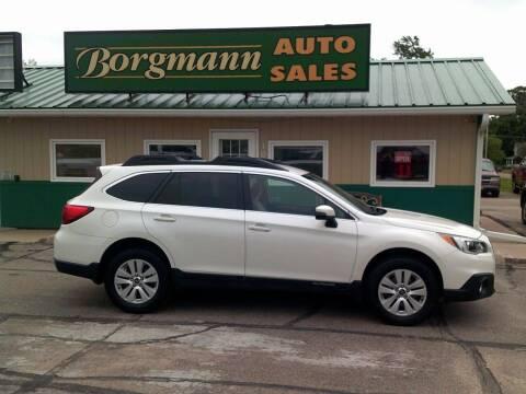 2016 Subaru Outback for sale at Borgmann Auto Sales in Norfolk NE