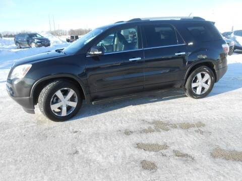 2012 GMC Acadia for sale at Salmon Automotive Inc. in Tracy MN