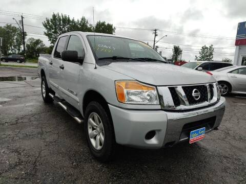 2012 Nissan Titan for sale at Peter Kay Auto Sales in Alden NY