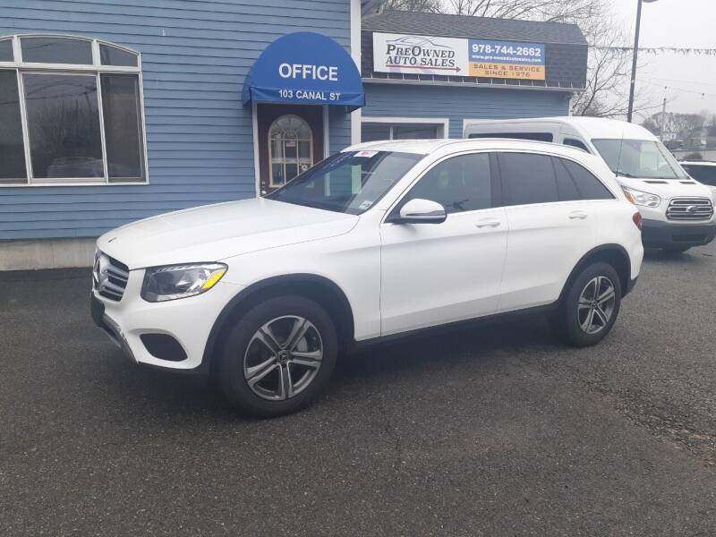 2018 Mercedes-Benz GLC for sale at Pre-Owned Auto Sales Inc in Salem MA