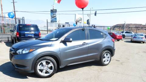 2016 Honda HR-V for sale at Luxor Motors Inc in Pacoima CA