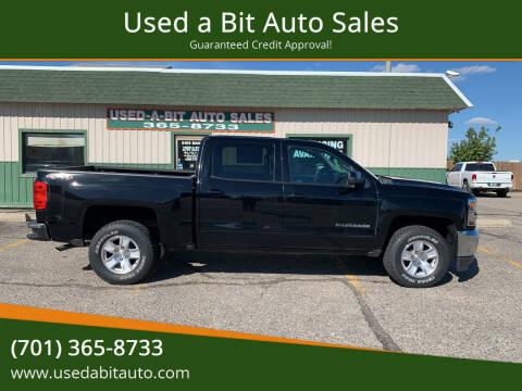 2017 Chevrolet Silverado 1500 for sale at Used a Bit Auto Sales in Fargo ND