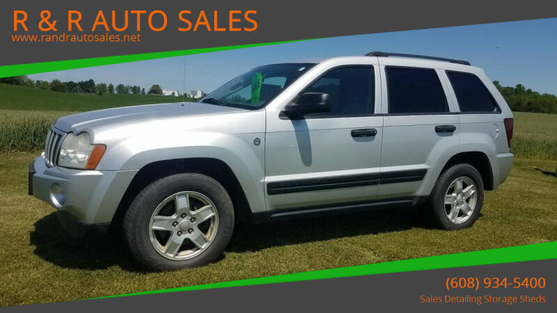 2006 Jeep Grand Cherokee for sale at R & R AUTO SALES in Juda WI