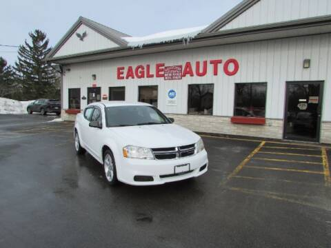 2013 Dodge Avenger for sale at Eagle Auto Center in Seneca Falls NY