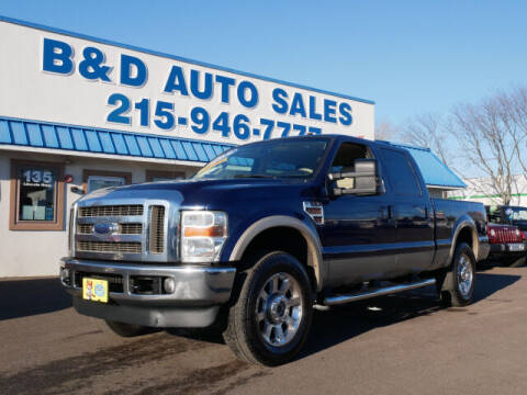 2010 Ford F-250 Super Duty for sale at B & D Auto Sales Inc. in Fairless Hills PA