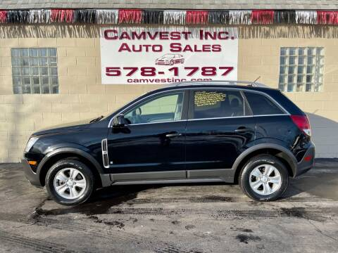 2009 Saturn Vue for sale at Camvest Inc. Auto Sales in Depew NY