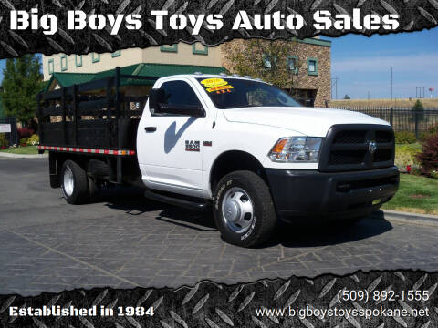 2018 RAM Ram Chassis 3500 for sale at Big Boys Toys Auto Sales in Spokane Valley WA