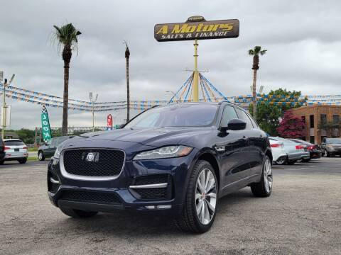 2017 Jaguar F-PACE for sale at A MOTORS SALES AND FINANCE in San Antonio TX