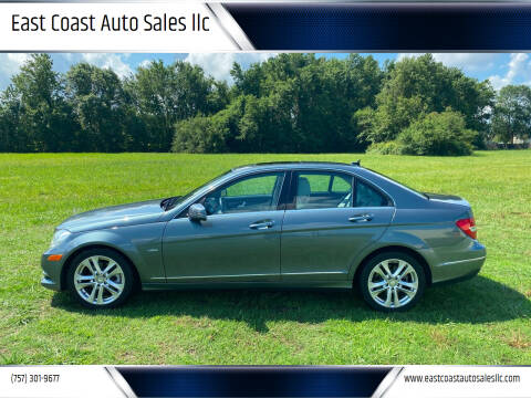 2012 Mercedes-Benz C-Class for sale at East Coast Auto Sales llc in Virginia Beach VA