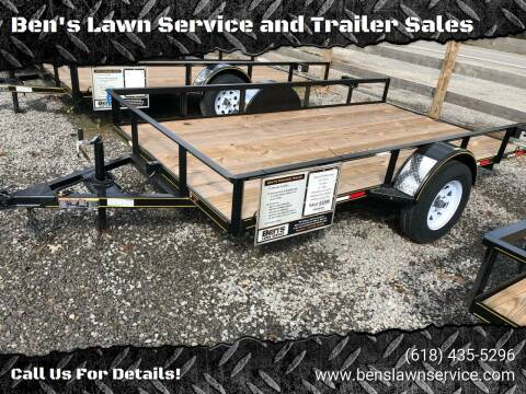 2018 Trailer Express 12' Tilt for sale at Ben's Lawn Service and Trailer Sales in Benton IL
