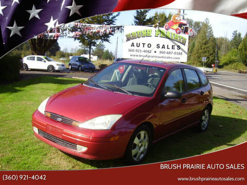 2002 Ford Focus for sale at Brush Prairie Auto Sales in Battle Ground WA