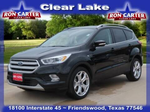 2019 Ford Escape for sale at Ron Carter  Clear Lake Used Cars in Houston TX
