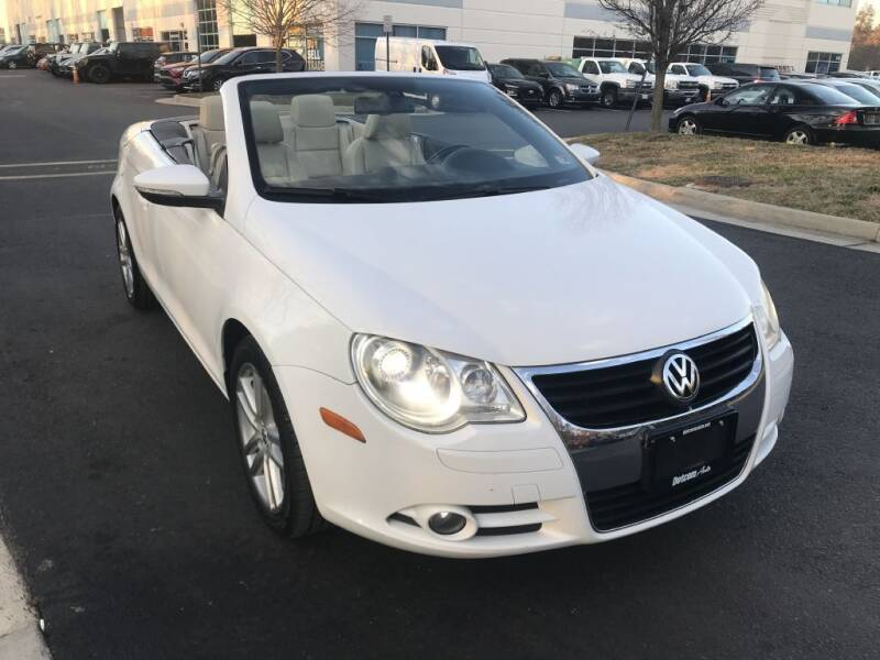 2009 Volkswagen Eos for sale at Dotcom Auto in Chantilly VA