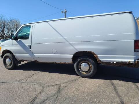 2004 Ford E-Series Cargo for sale at Geareys Auto Sales of Sioux Falls, LLC in Sioux Falls SD