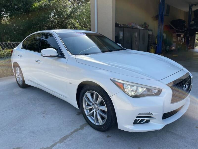 2015 Infiniti Q50 for sale at Jeff's Auto Sales & Service in Port Charlotte FL