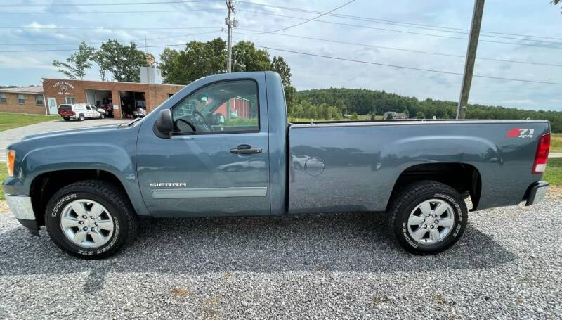 2012 GMC Sierra 1500 for sale at Judy's Cars in Lenoir NC