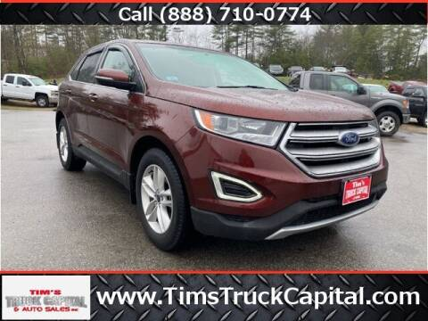 2015 Ford Edge for sale at TTC AUTO OUTLET/TIM'S TRUCK CAPITAL & AUTO SALES INC ANNEX in Epsom NH