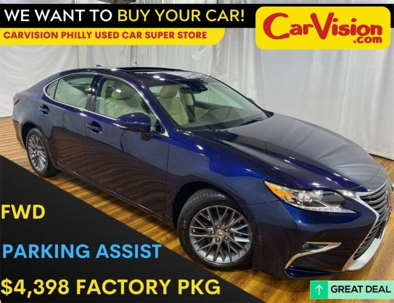 2018 Lexus ES 350 for sale at Car Vision Mitsubishi Norristown - Car Vision Philly Used Car SuperStore in Philadelphia PA