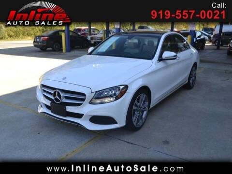 2017 Mercedes-Benz C-Class for sale at Inline Auto Sales in Fuquay Varina NC