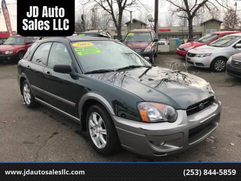 2005 Subaru Impreza for sale at JD Auto Sales LLC in Fife WA