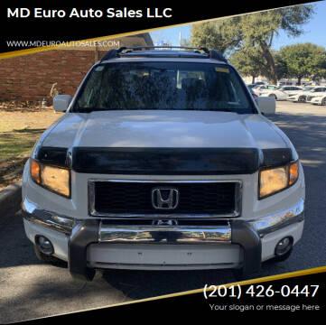 2008 Honda Ridgeline for sale at MD Euro Auto Sales LLC in Hasbrouck Heights NJ