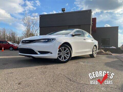 2015 Chrysler 200 for sale at George's Used Cars - Telegraph in Brownstown MI