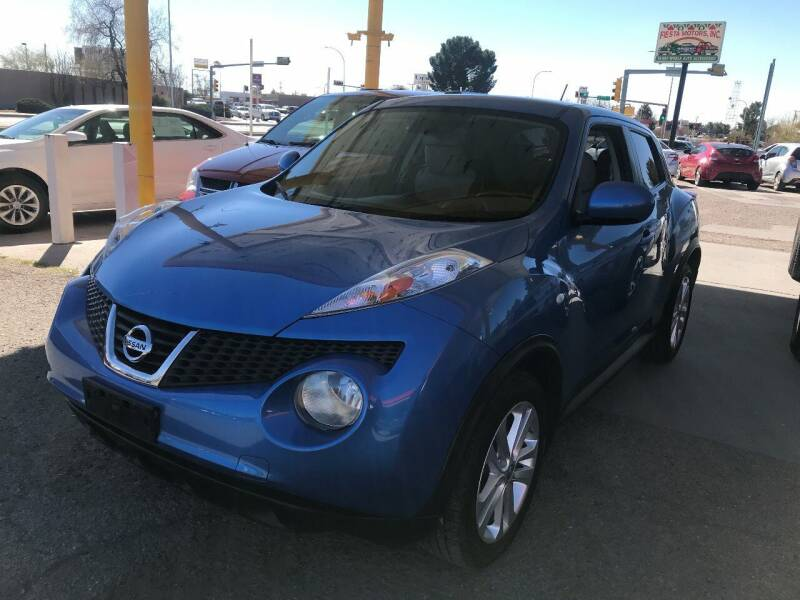 2011 Nissan JUKE for sale at Fiesta Motors Inc in Las Cruces NM