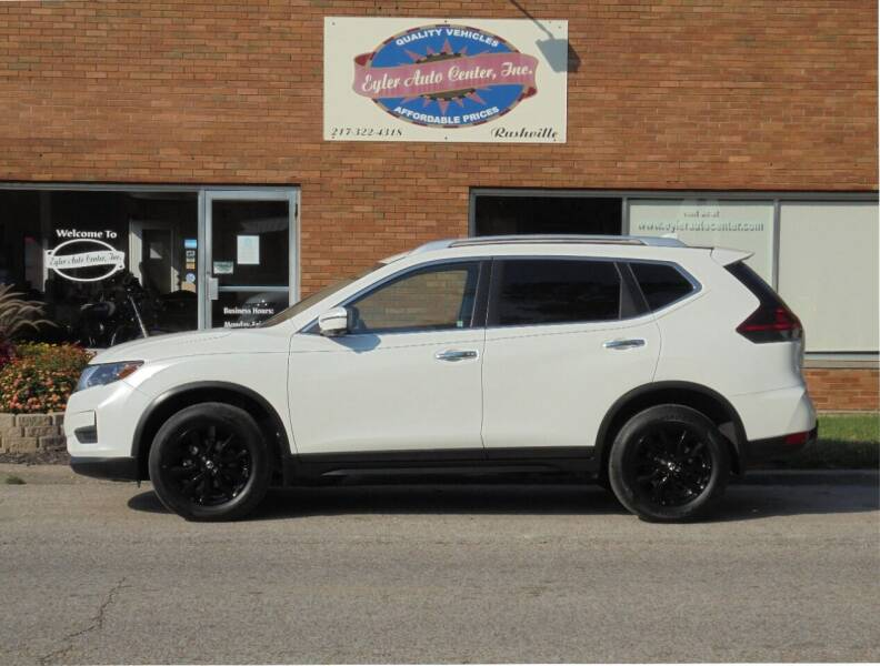 2018 Nissan Rogue for sale at Eyler Auto Center Inc. in Rushville IL