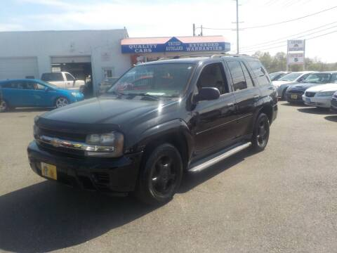 2008 Chevrolet TrailBlazer for sale at United Auto Land in Woodbury NJ