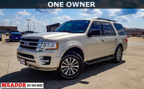 2017 Ford Expedition for sale at Meador Dodge Chrysler Jeep RAM in Fort Worth TX