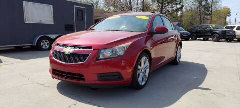 2011 Chevrolet Cruze for sale at DADA AUTO INC in Monroe NC