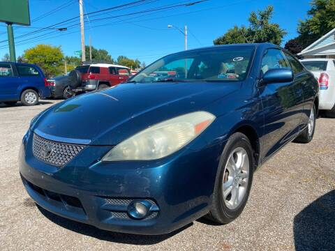 2007 Toyota Camry Solara for sale at GREENLIGHT AUTO SALES in Akron OH