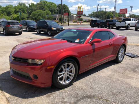 2015 Chevrolet Camaro for sale at Penland Automotive Group in Laurens SC