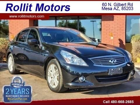 2011 Infiniti G37 Sedan for sale at Rollit Motors in Mesa AZ