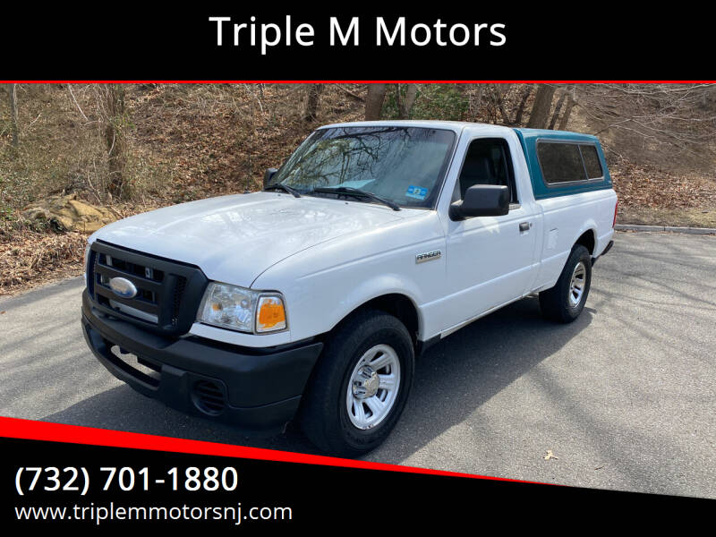 2008 Ford Ranger for sale at Triple M Motors in Point Pleasant NJ