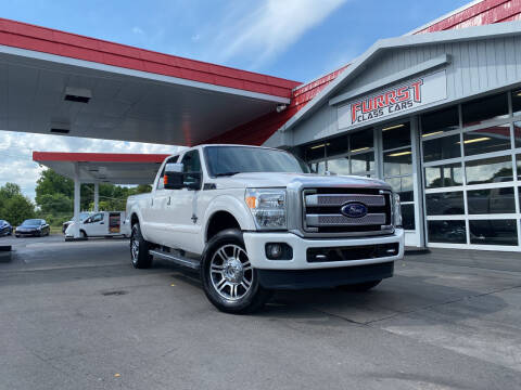 2015 Ford F-250 Super Duty for sale at Furrst Class Cars LLC in Charlotte NC