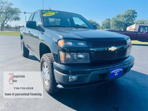 2012 Chevrolet Colorado for sale at Transportation Center Of Western New York in Niagara Falls NY