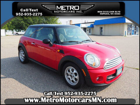 2013 MINI Cooper for sale at Metro Motorcars Inc in Hopkins MN