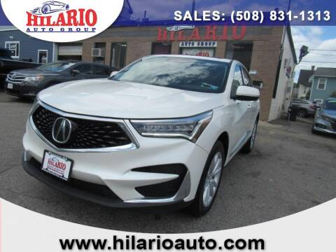 2019 Acura RDX for sale at Hilario's Auto Sales in Worcester MA
