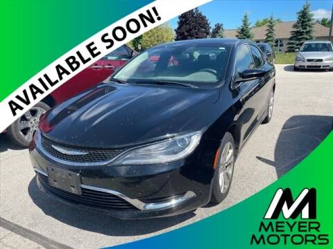 2016 Chrysler 200 for sale at Meyer Motors in Plymouth WI