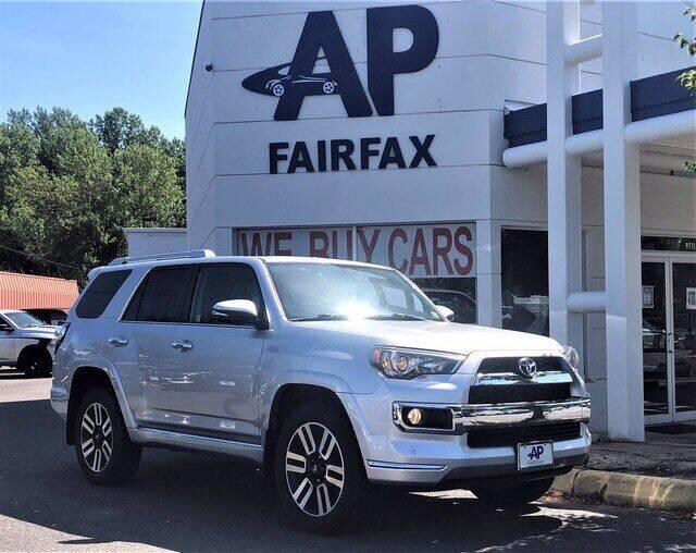 2016 Toyota 4Runner for sale at AP Fairfax in Fairfax VA